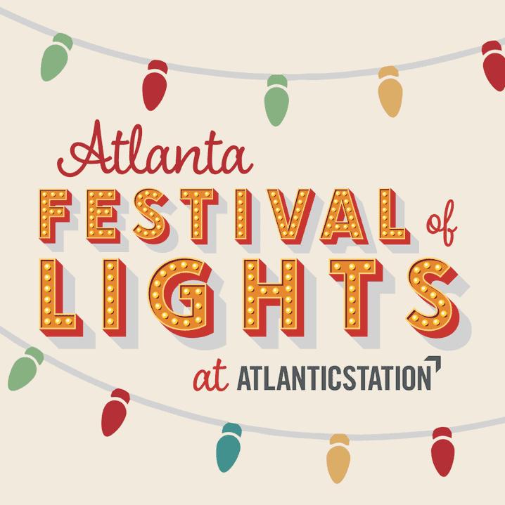 Atlanta Festival of Lights at Atlantic Station