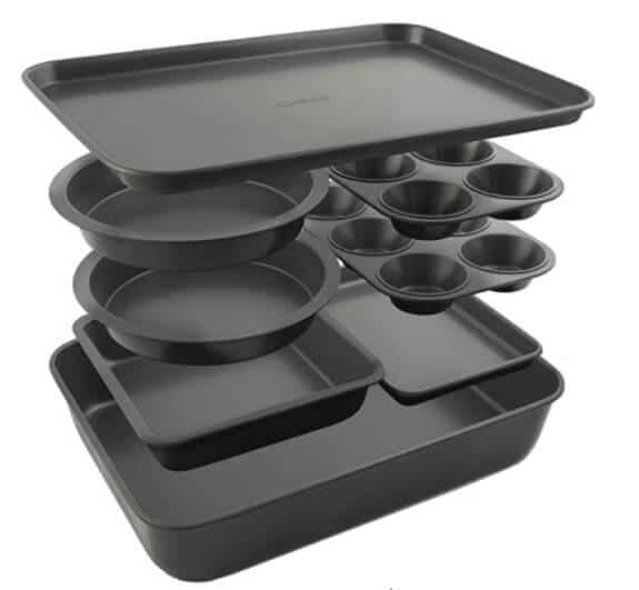 Elbee Home 8-Piece Stack 'n' Store Baking Set