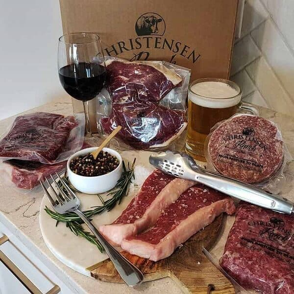 Christensen Ranch Let's Grill Gift Box