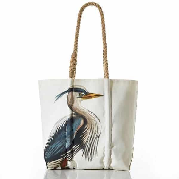 Seabags Great Blue Heron Tote