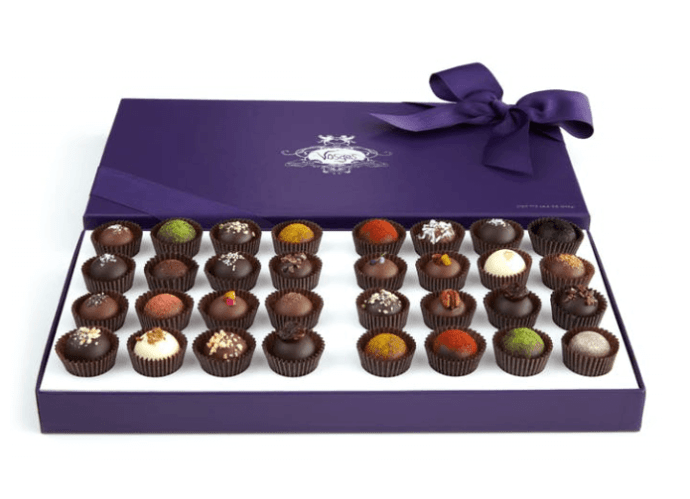 Vosges Haut-Chocolat's 32-pc Exotic Truffle Collection