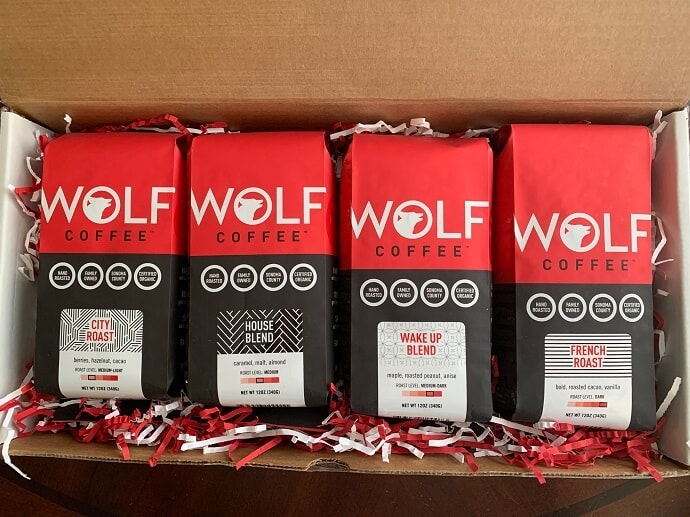 Wolf Coffee Sampler