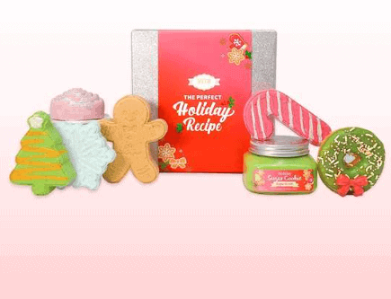 Nectar Bath Treats' Tis the Season Holiday Gift Set