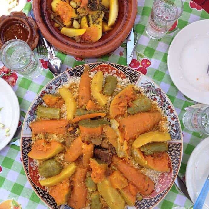 Moroccan Couscous by Amanda Ponzio-Mouttaki