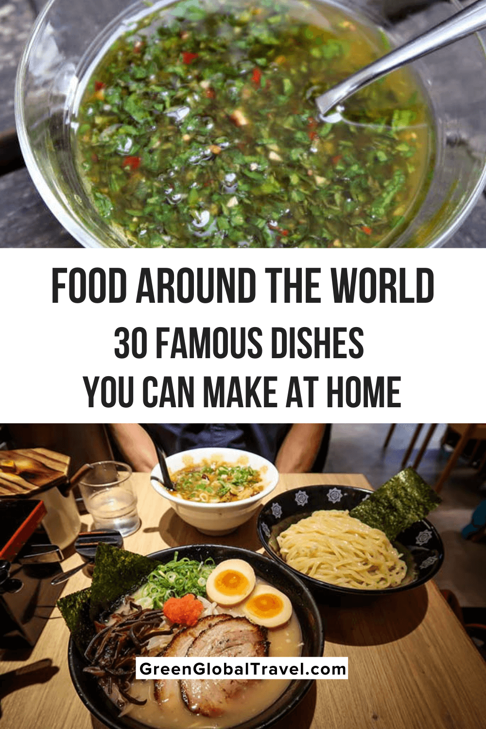 Traditional Food Around the World: 30 Famous Dishes You Can Make at Home | foods from different countries | famous foods from different countries | traditional food around the world | famous dishes around the world | famous food around the world | traditional dishes from around the world | different foods around the world | cultural foods around the world | unique foods around the world | best food around the world | traditional dishes from around the world