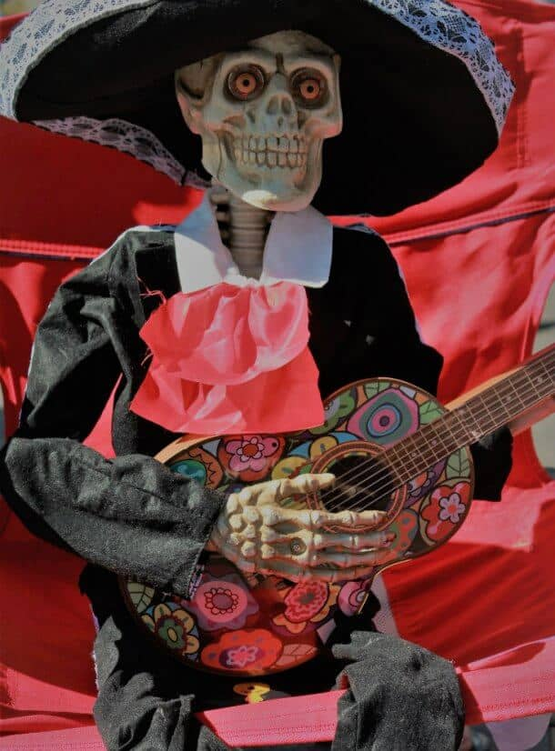 Mexico's Day of the Dead float