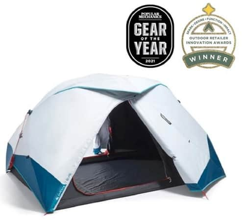 Decathlon Quechua 2 Second Easy Fresh & Black Tent