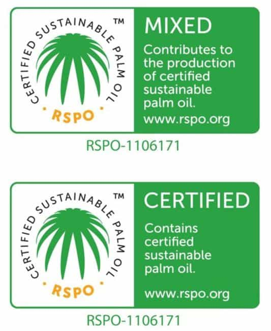 RSPO Certification Seal