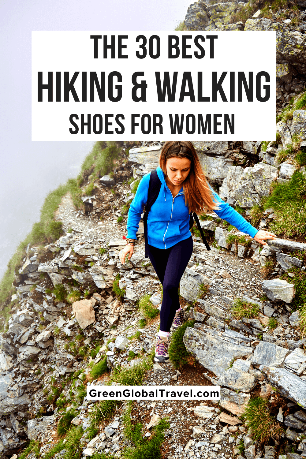 The 30+ best women's hiking, running and walking shoes for 2021, from fun and fashionable to technical shoes designed to conquer any terrain. | womens hiking shoes | ladies walking boots | womens hiking boots | womens waterproof walking boots | womens walking shoes | ladies walking shoes | best sneakers for walking | women's walking shoes with arch support | walking sneakers | cushion walk shoes | ladies waterproof walking shoes | best trail running shoes for women | trail shoes women |