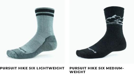 Swiftwick Pursuit Hike socks