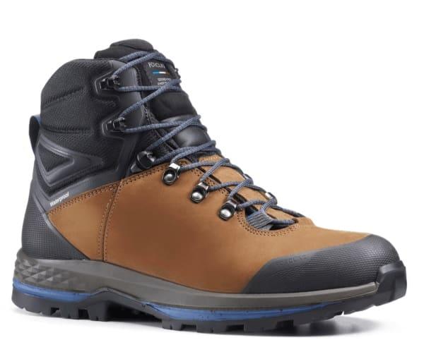 Forclaz Trek 100, Flexible Leather Hiking Boots