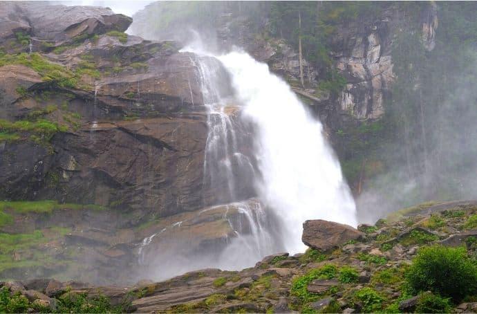 Krimmler Wasserfälle via Canva