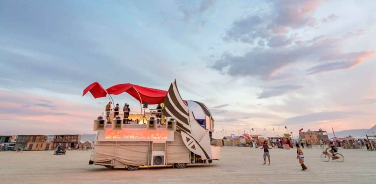 Famous Festivals in USA - Burning Man by Val & Nick Wheatley of Wandering Wheatleys