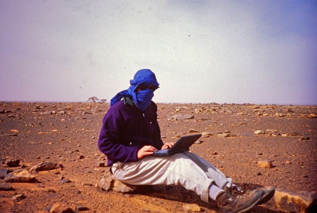 Travel Writer Jeff Greenwald, 1994