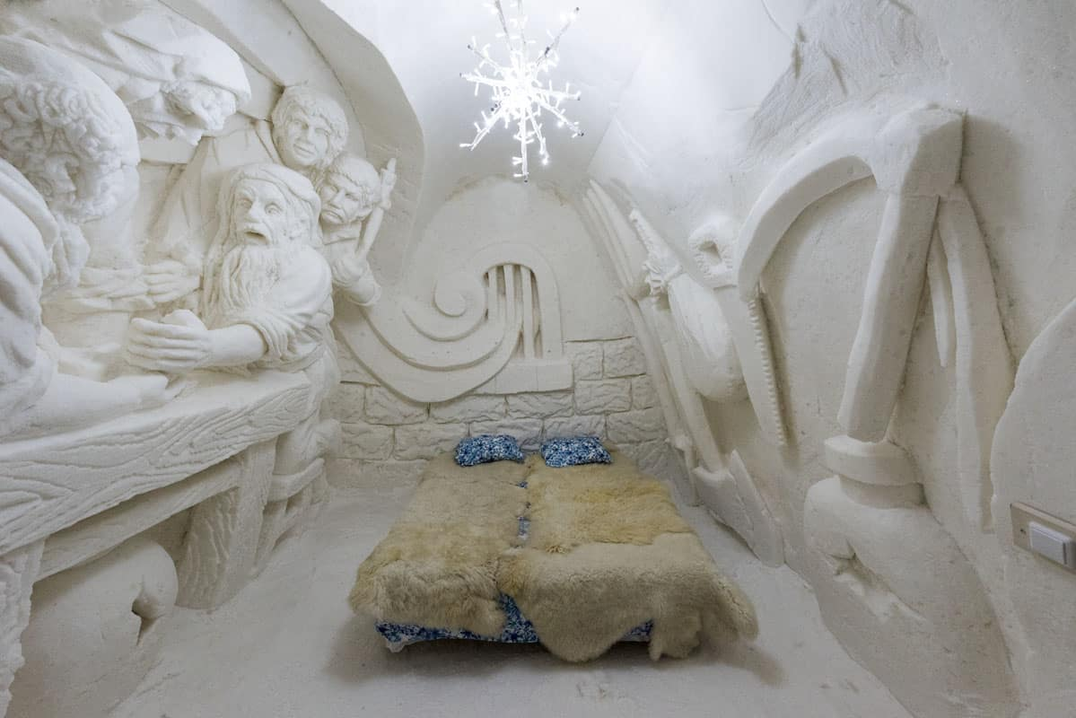 Ice Hotel in Finnish Lapland