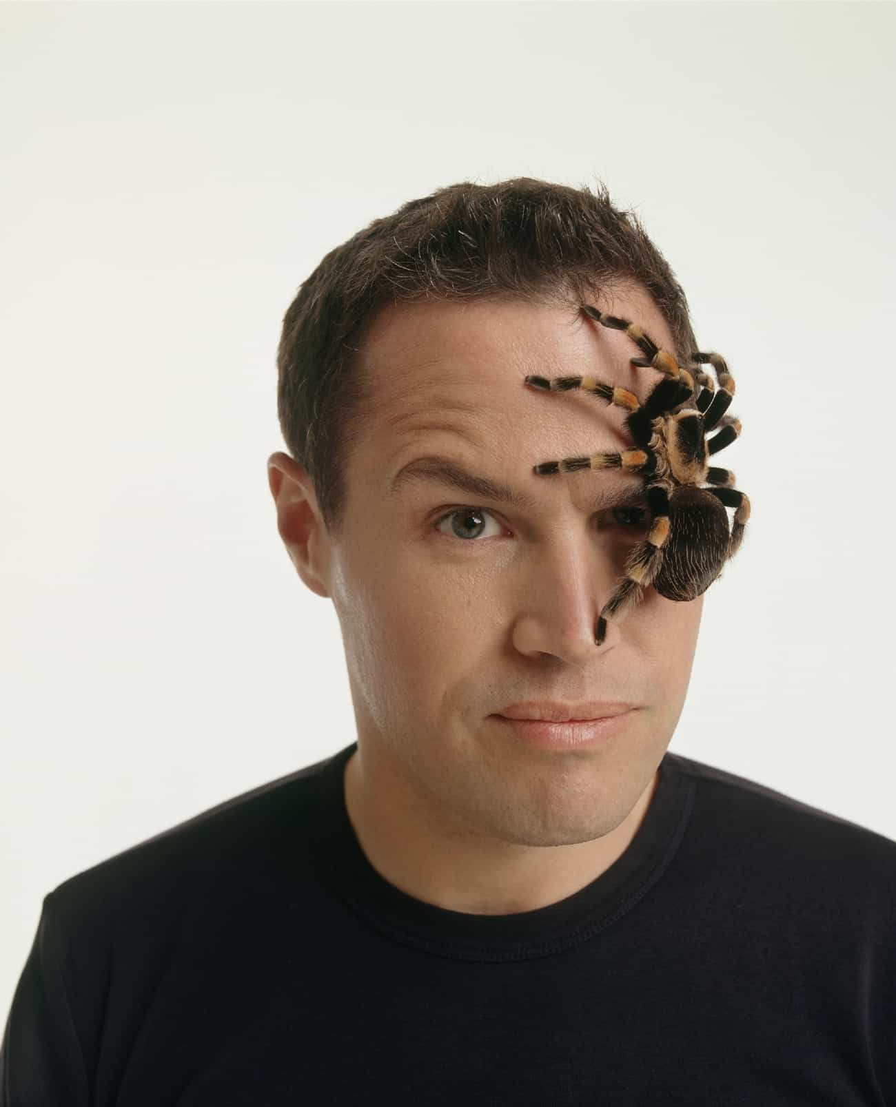 Jeff Corwin with Tarantula