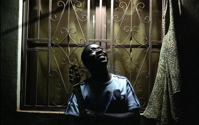Baba Salah, photographed at home in Bamako, Mali.