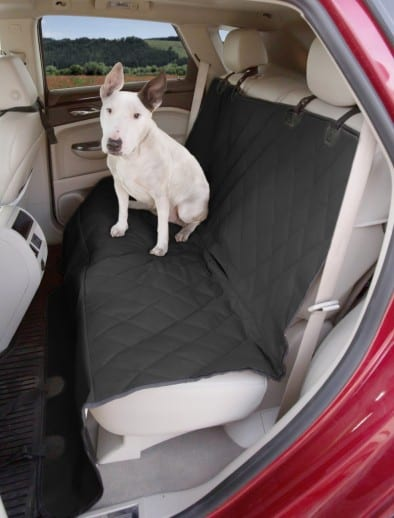 Best Gifts for Travelers - 4Knines rear seat cover for pets