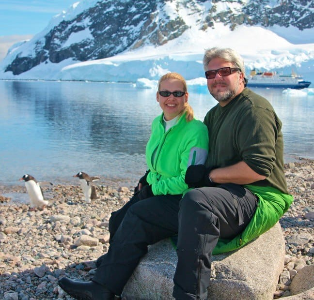 Travel Fashion: Wearing Eddie Bauer in Antarctica