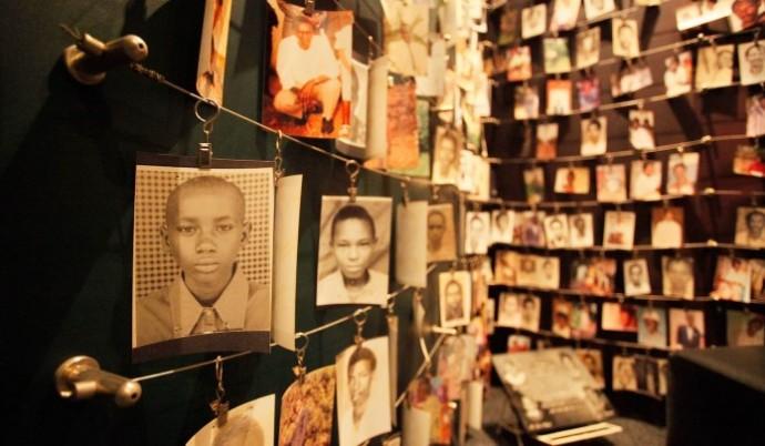 Victims of Rwanda Genocide at Kigali Memorial Centre