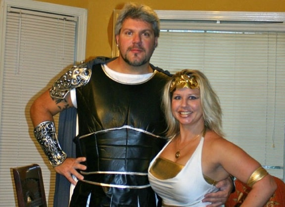 Gladiator & Goddess, Halloween Party 2011