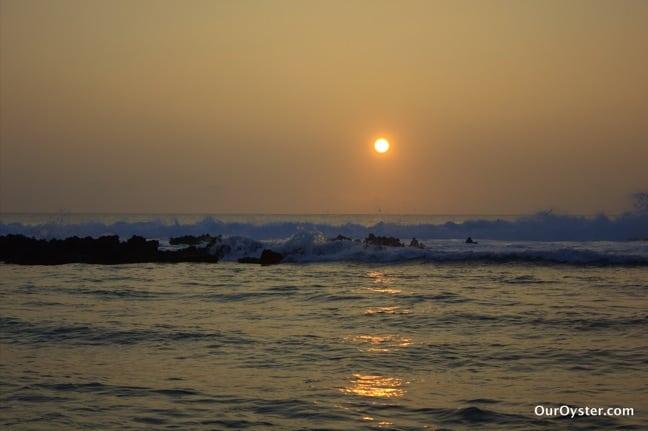 Sunset on Eua Island, Tonga