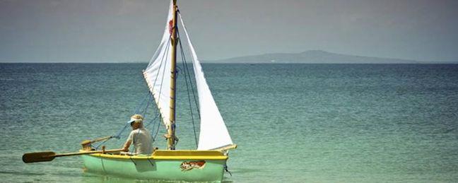 Sailing Little Corn Island, Nicaragua