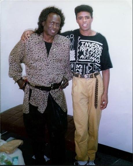 Hassan Hakmoun with Jazz Legend Miles Davis