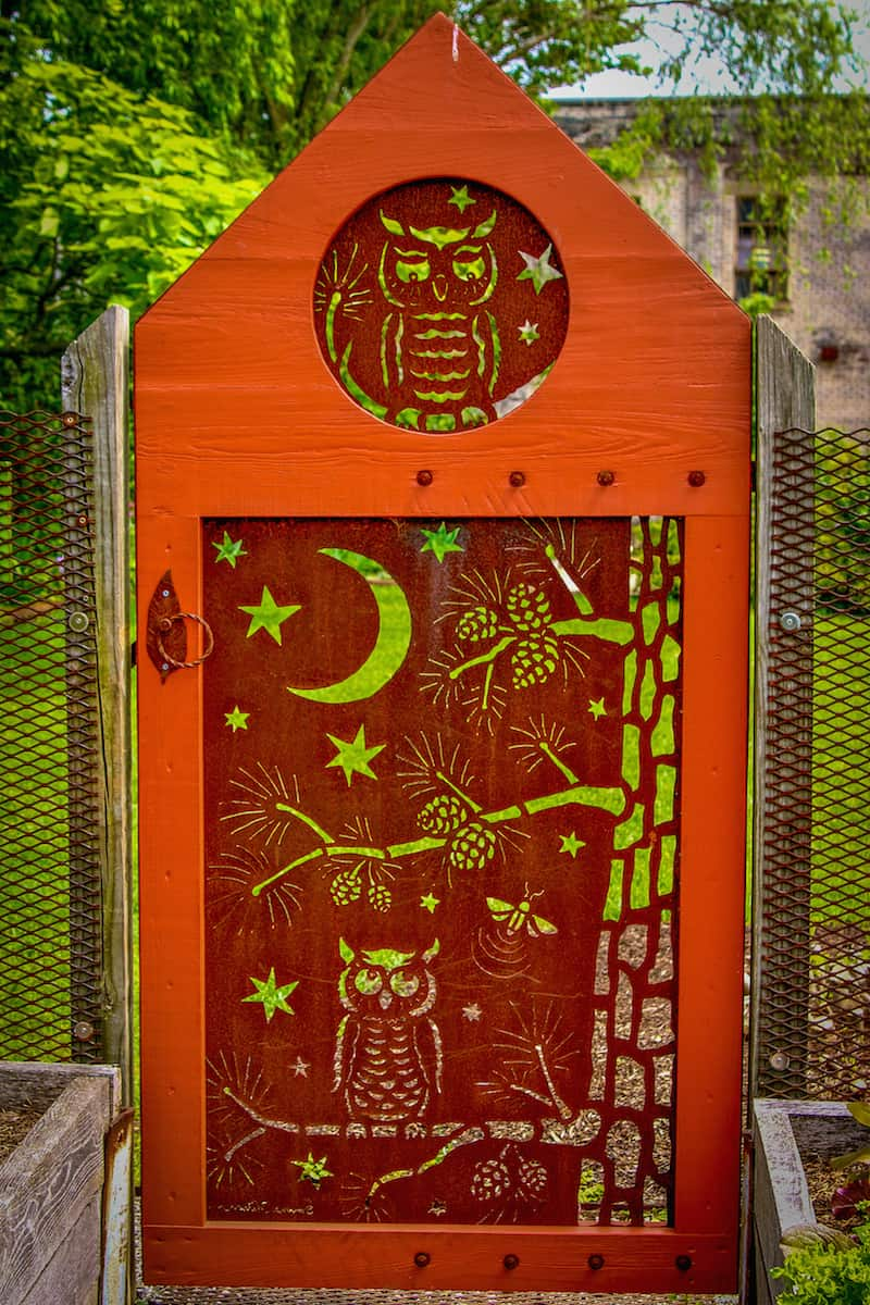 Garden Door at Curve Studios, Asheville