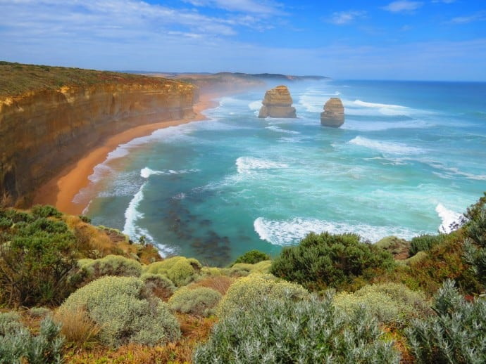Port Campbell National Park one of 10 Great Australian National Parks for Your World Travel Bucket List