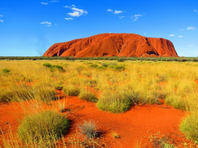 Uluru-Kata Tjuta National Park, one of 10 Great Australian National Parks for Your World Travel Bucket List