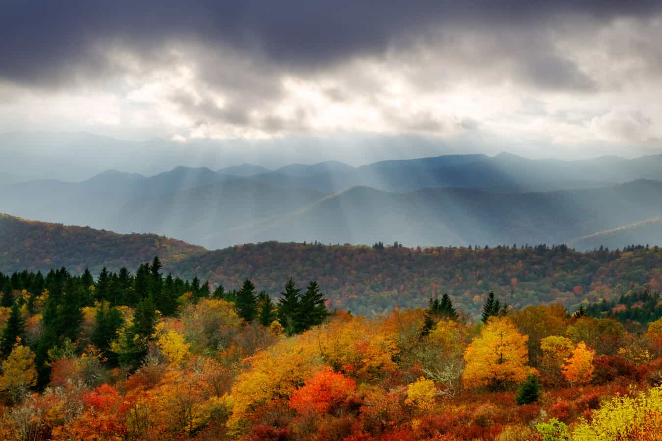 Autumn in Asheville's Mountains, photo by Dave Allen