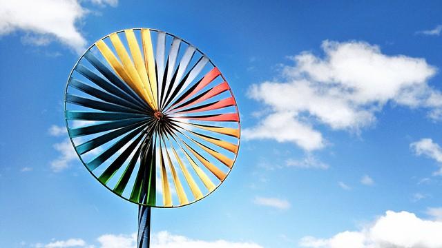 Beautiful Wind Turbine for Renewable Electricity (Courtesy of epSos.de