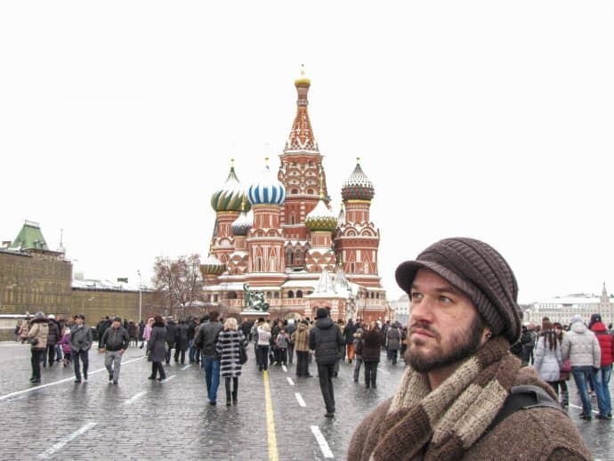 Become a Responsible Traveler-Red Square in Moscow