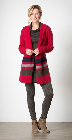 Best Gear for Travelers - Toad&Co House Red Merino Heartfelt Hoodie