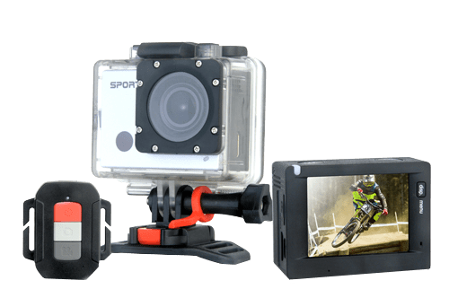 Best Gifts for Travelers - 4K Ultra HD Action Camera