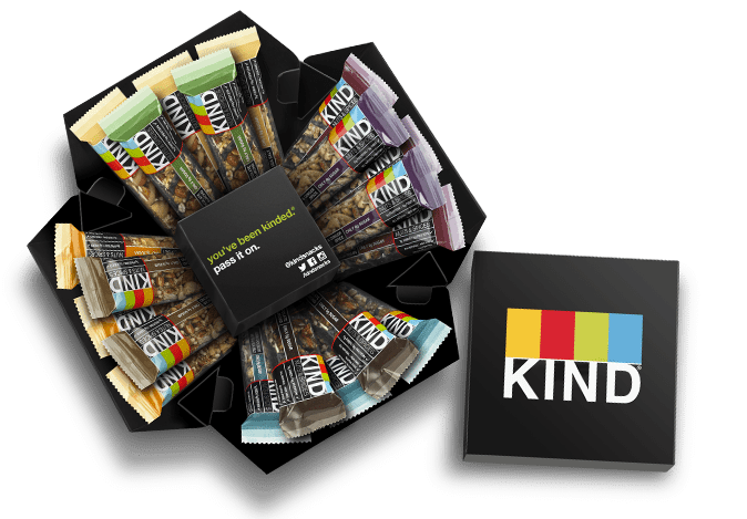 Best Gifts for Travelers - Kind Snack Cube