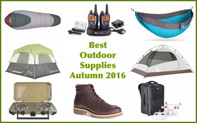 Best Outdoor Supplies Autumn 2016