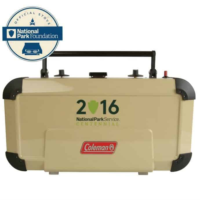 Best Outdoor Supplies for Autumn 2016- Coleman National Parks Edition Fyreknight Propane Stove