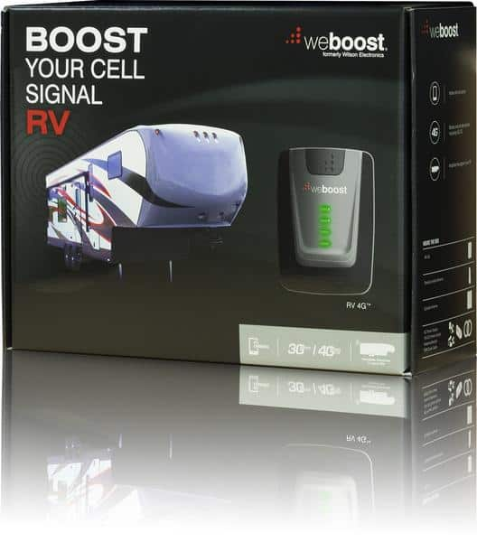 Best Outdoor Supplies for Autumn 2016- Weboost RV 4G