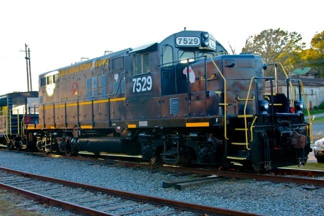 Autumn Activities Atlanta Blue-Ridge-Scenic-Railway