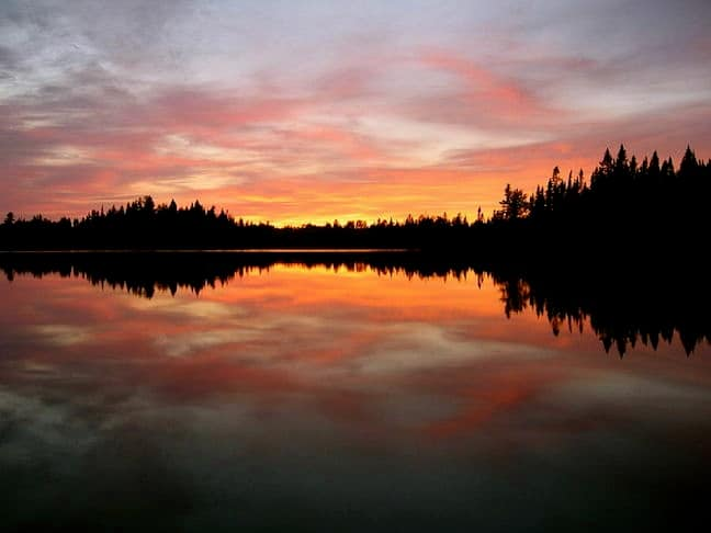 Boundary Waters, photo by Reid Priedhorsky via Creative Commons
