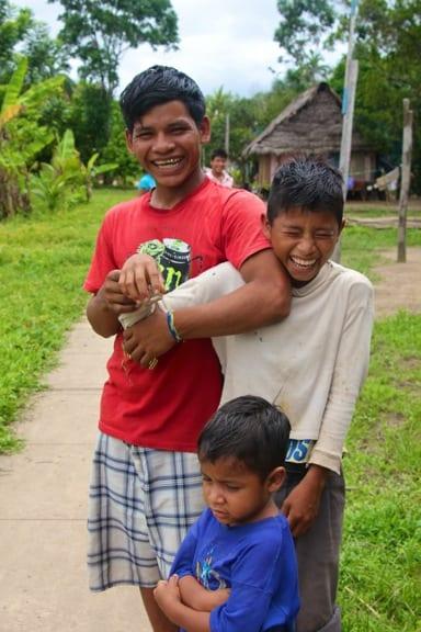 Ribereños Boys in the Peruvian Amazon