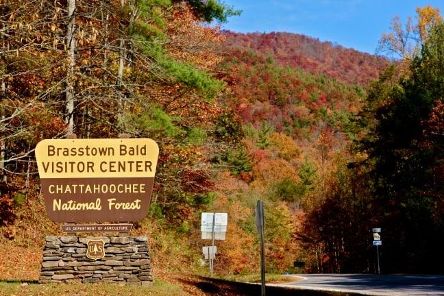 Autum Activities Atlanta Hiking Brasstown-Bald Chattahoochee National Forest