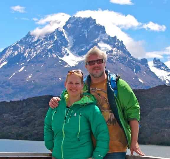 Bret Love & Mary Gabbett in Chile's Torres del Paine National Park