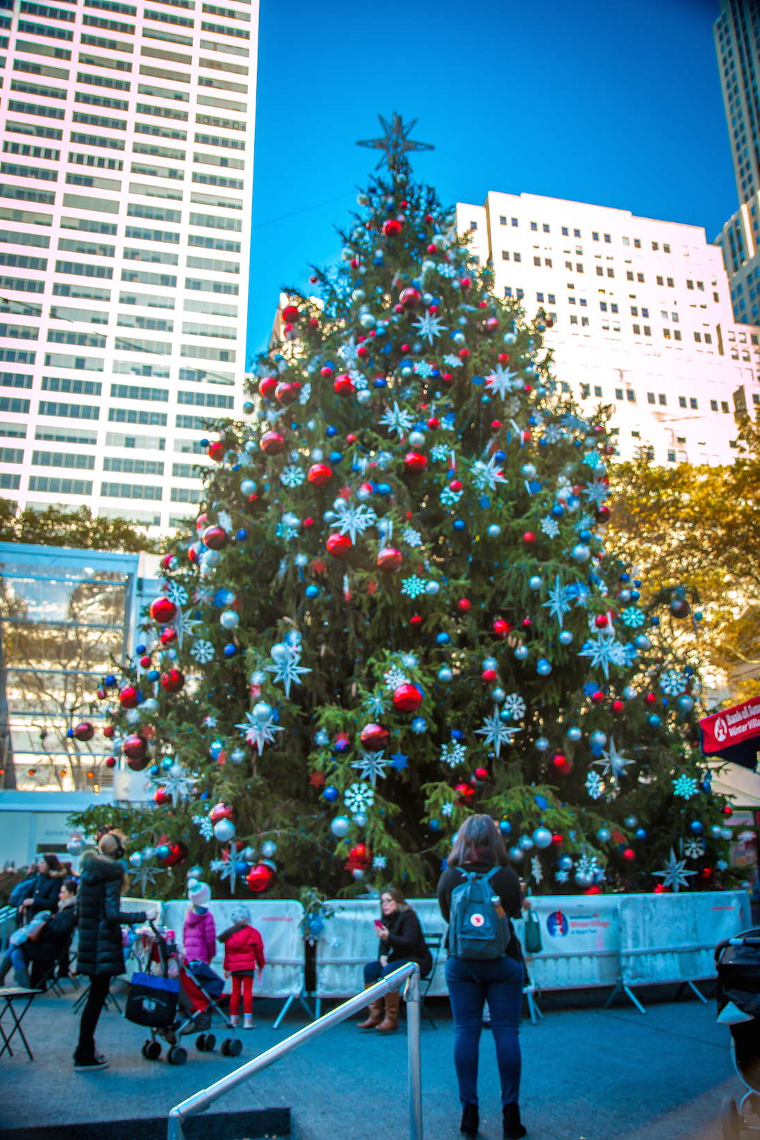 NYC Christmas: Free Walking Tour (Bryant Park)