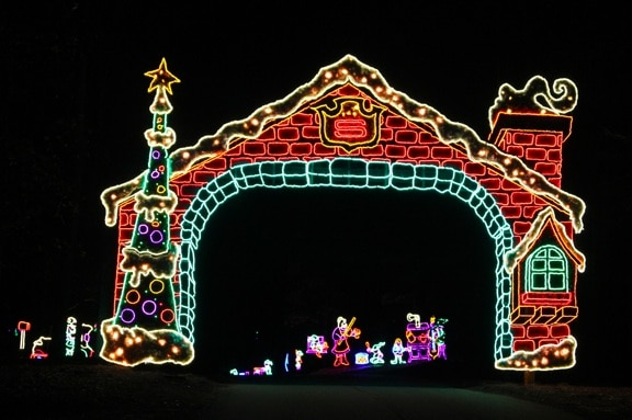 The Best Christmas Light Displays In Georgia [2016 Update]