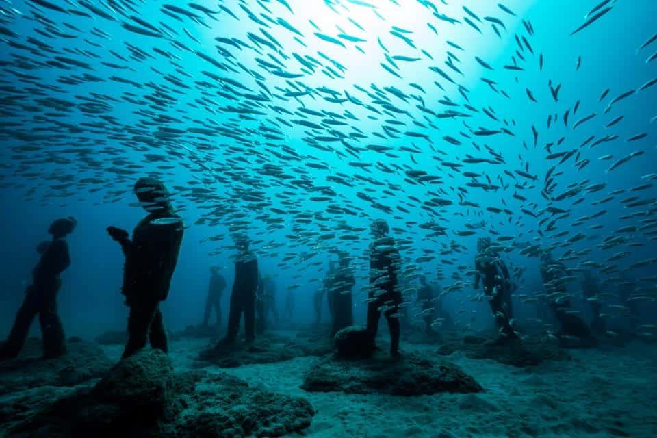 Canary Islands Underwater Museum Atlantico Lanzarote by Jason deCaires Taylor