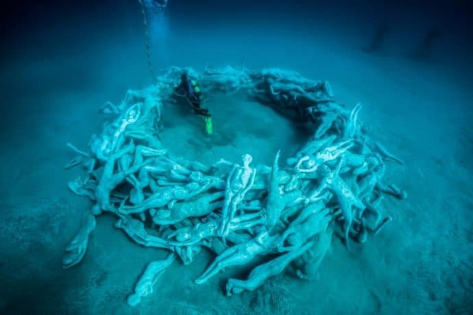 Canary Islands Underwater Museum - Atlantico Lanzarote by Jason deCaires Taylor