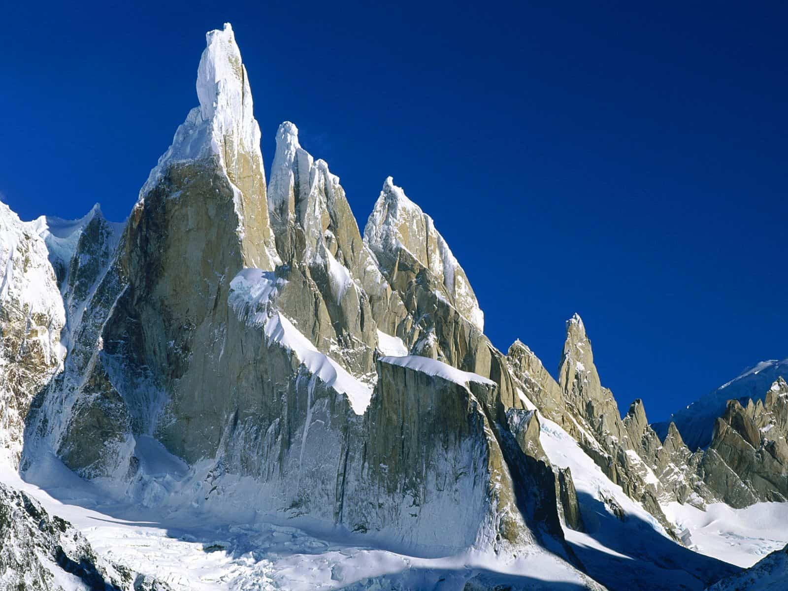 Best Mountains in the World: Cerro Torre in Los Glaciares National Park, Argentina